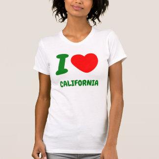 I corazón California Playera