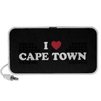 i corazón Cape Town Suráfrica Mini Altavoz