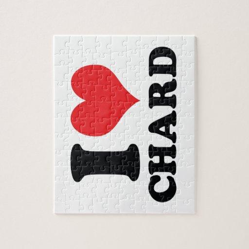 I corazón/cardo del amor puzzle