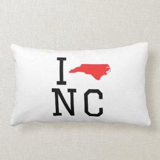 I corazón Carolina del Norte Cojín