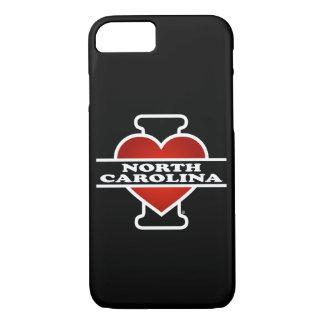 I corazón Carolina del Norte Funda iPhone 7