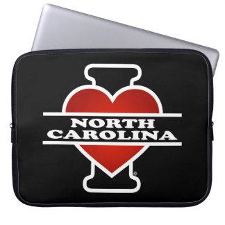 I corazón Carolina del Norte Manga Portátil
