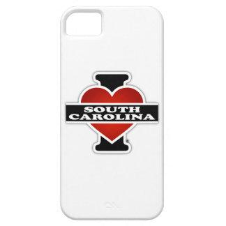I corazón Carolina del Sur iPhone 5 Fundas