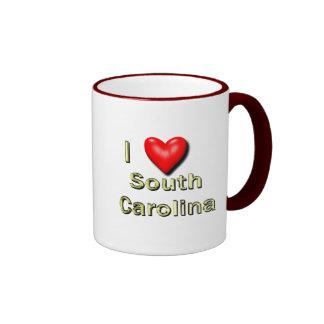 I corazón Carolina del Sur Taza De Café