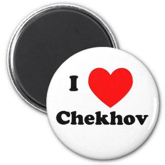 I corazón Chekhov Imán Redondo 5 Cm