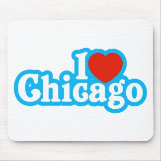 I corazón Chicago Alfombrilla De Ratón