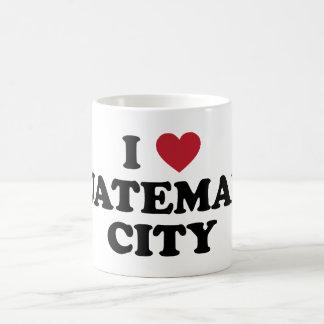 I corazón ciudad de Guatemala Guatemala Taza Clásica