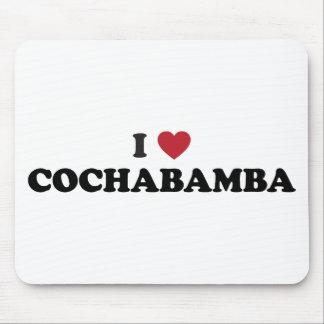 i corazón Cochabamba Bolivia Alfombrilla De Raton