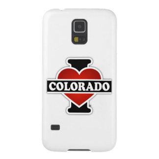 I corazón Colorado Carcasas Para Galaxy S5