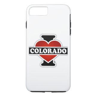 I corazón Colorado Funda iPhone 7 Plus