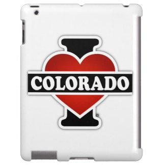 I corazón Colorado Funda Para iPad