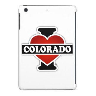 I corazón Colorado Fundas De iPad Mini
