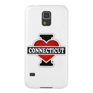 I corazón Connecticut Fundas Para Galaxy S5