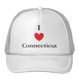 I corazón Connecticut Gorro
