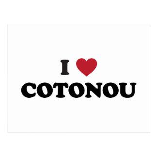 I corazón Cotonú Benin Postales