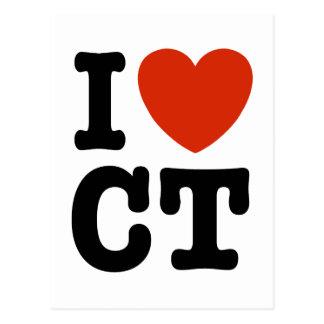 I corazón CT Postales
