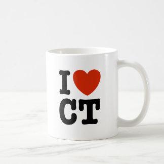 I corazón CT Taza De Café