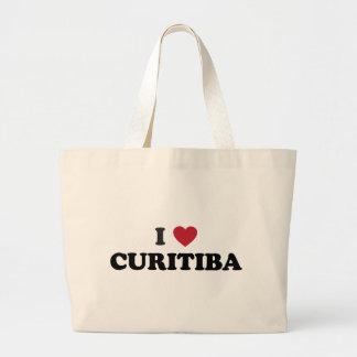 I corazón Curitiba el Brasil Bolsas De Mano