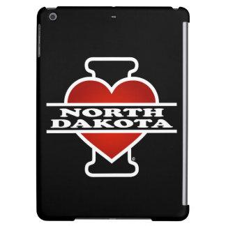 I corazón Dakota del Norte