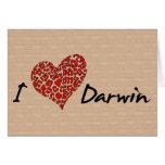 I corazón Darwin Tarjetón