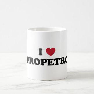 I corazón Dnipropetrovsk Ucrania Tazas De Café