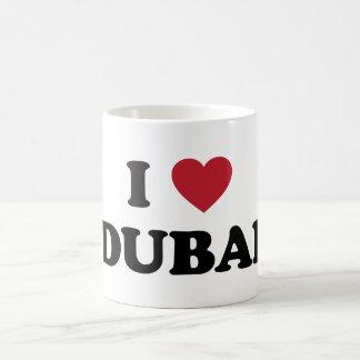 I corazón Dubai United Arab Emirates Taza Básica Blanca