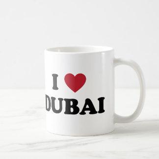 I corazón Dubai United Arab Emirates Taza Clásica