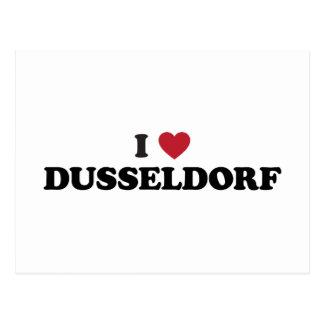 I corazón Düsseldorf Alemania Postales