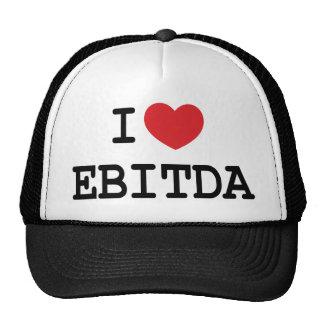 I (corazón) EBITDA Gorro