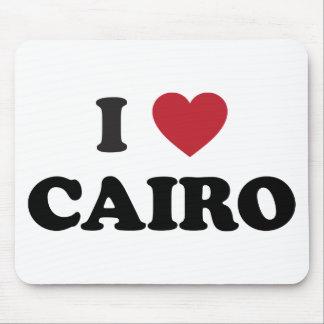 I corazón El Cairo Egipto Tapetes De Ratones