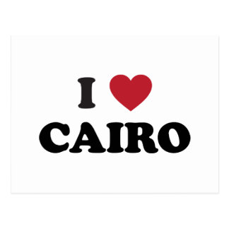 I corazón El Cairo Egipto Tarjetas Postales