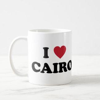 I corazón El Cairo Egipto Taza Clásica