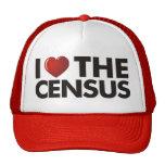 I corazón el censo gorros
