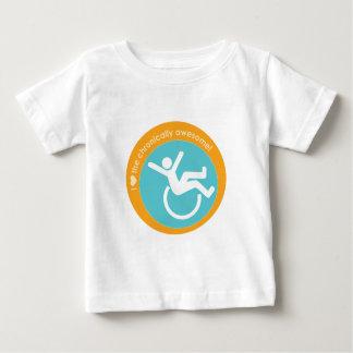 I {corazón} el crónico impresionante playera para bebé
