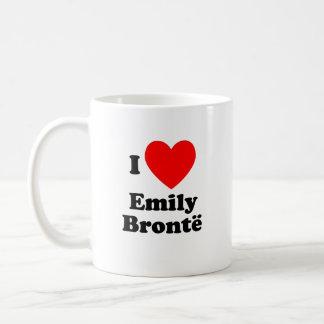 I corazón Emily Bronte Taza