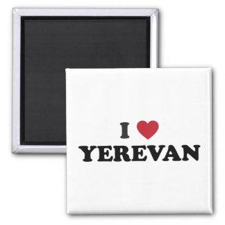I corazón Ereván Armenia Imán Cuadrado