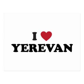 I corazón Ereván Armenia Postal