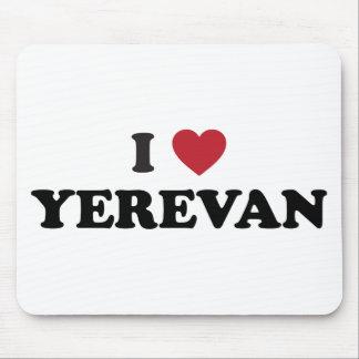 I corazón Ereván Armenia Tapetes De Ratón