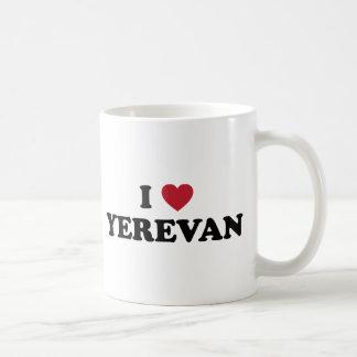 I corazón Ereván Armenia Taza Clásica