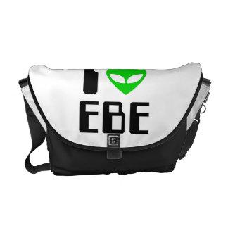 I corazón extranjero EBE Bolsas Messenger