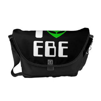 I corazón extranjero EBE Bolsa Messenger