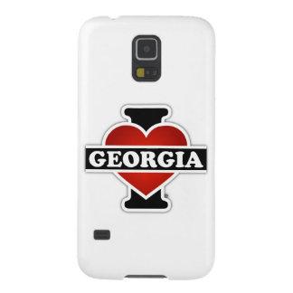 I corazón Georgia Carcasa De Galaxy S5
