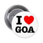 I corazón Goa Pin