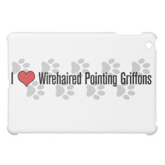 I (corazón) Griffons punteagudo Wirehaired