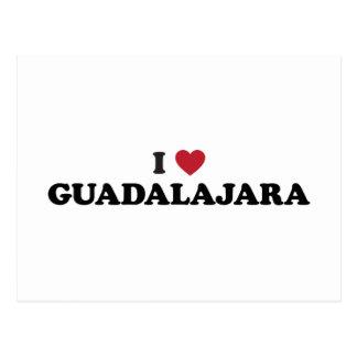 I corazón Guadalajara México Postal