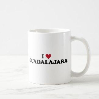 I corazón Guadalajara México Tazas De Café