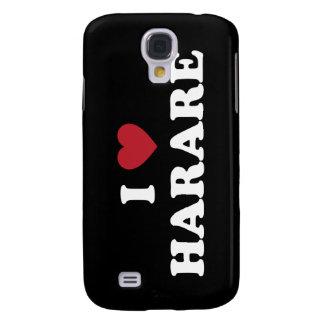 I corazón Harare Zimbabwe Carcasa Para Galaxy S4