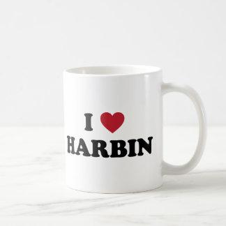 I corazón Harbin China Taza Clásica