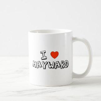 I corazón Hayward Taza Clásica
