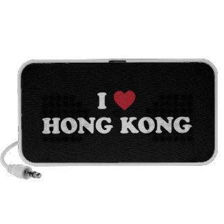 I corazón Hong Kong China Altavoces De Viaje